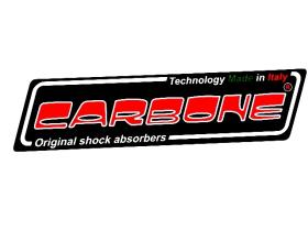 Carbone 60282055 - Amortiguador Trasero Negro/ Gris Gilera Runner