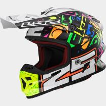 LS2 404569854XS - LS2 MX456 LIGHT EVO RALLIE Green Black