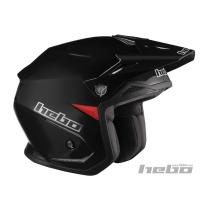 HEBO HC1112XSN - CASCO TRIAL ZONE 5 MONOCOLOR+LUZ DE FRENO