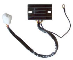 SUN 04175215 - Regulador Japonés SH556-12 - 12V - Trifase - CC - 8 Cables -