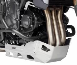 GIVI RP5140 - Cubre cárter específico en aluminio satinado y anodizado